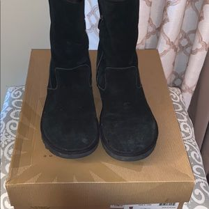 UGG Lil Sunshine Black Low Boots